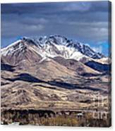 Squaw Butte Canvas Print