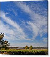 Squaw Creek Landscape Canvas Print