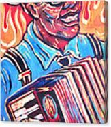 Squeezebox Blues Canvas Print