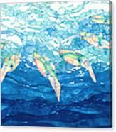 Squid Ballet Canvas Print
