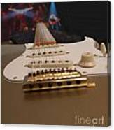 Squier Stratocastor Guitar - 3 Canvas Print