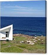 Squish Studio Tilting Fogo Island Newfoundland Canvas Print