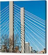 Sr-509 Cable Stayed Bridge Canvas Print