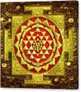 Sri Lakshmi Yantra Canvas Print