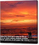 Sri Lankan Sunset Canvas Print