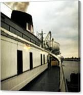 S.s. Badger Car Ferry Canvas Print