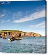St Abbs Cliffs Canvas Print