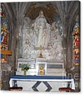St. Aignan Church Altar Canvas Print