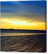 St Andrews Bay Sunset Canvas Print