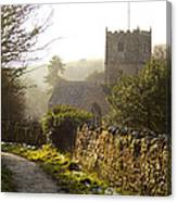 St Andrew's Church Clevedon Canvas Print