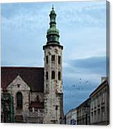 St. Andrew's Church In Krakow At Dusk Canvas Print