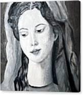 St. Anne - Value Work  Canvas Print