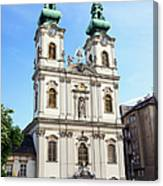 St Anne's Church In Budapest Canvas Print