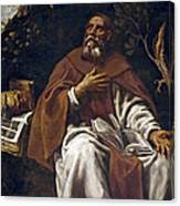 St Anthony Abbot Canvas Print