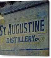 St. Augustine Distillery 2 Canvas Print