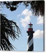 St. Ausgustine Lighthouse Canvas Print