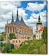 St Barbara Church Kutna Hora Canvas Print