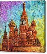 St Basil Canvas Print