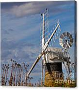 St Benets Drainage Mill Norfolk Canvas Print