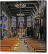 St. Catherine's Of Honfleur Canvas Print