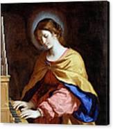 St Cecilia Canvas Print
