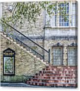 St. Charles Ave Baptist Church New Orleans Canvas Print