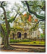St. Charles Ave. Mansion Canvas Print