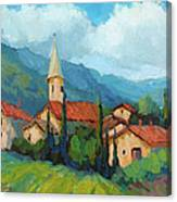 St. Colombe Provence Canvas Print