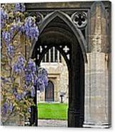 St. Cross Arches Canvas Print