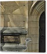 St. Cross College Canvas Print