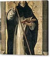 St. Dominic De Guzman Canvas Print