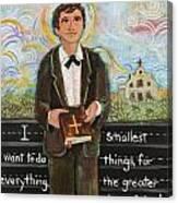 St Dominic Savio Canvas Print