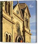 St. Francis Cathedral - Santa Fe Canvas Print