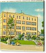 St. Francis Hospital Canvas Print