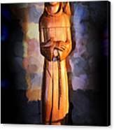 St. Francis Of Assisi By George Wood Canvas Print