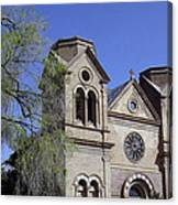 St. Francis Of Assisi Church Canvas Print