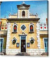 St. Francis Xavier Chapel Macau Canvas Print