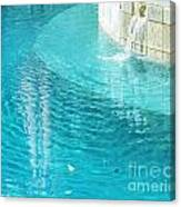 St Francisville Inn La Pool Canvas Print