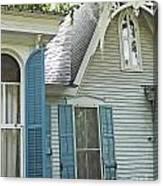 St Francisville Inn Windows Louisiana Canvas Print