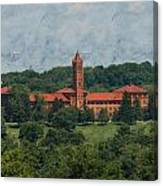 St. Gabriel's From Valley Forge Canvas Print