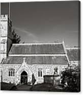St Georges Church Preshute Canvas Print