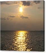 St George's Island Sunset Canvas Print