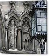 St Giles Church Statues 6600 Canvas Print