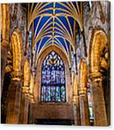 St. Giles Entrance Canvas Print