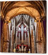 St. Giles Pipe Organ Canvas Print