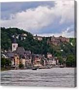 St Goar Am Rhein Canvas Print