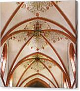 St Goar Organ And Ceiling Canvas Print