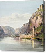 St. Goarshausen, St. Goar Canvas Print