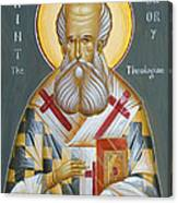 St Gregory The Theologian Canvas Print
