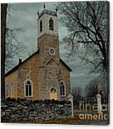 St. James Anglican Church Canvas Print